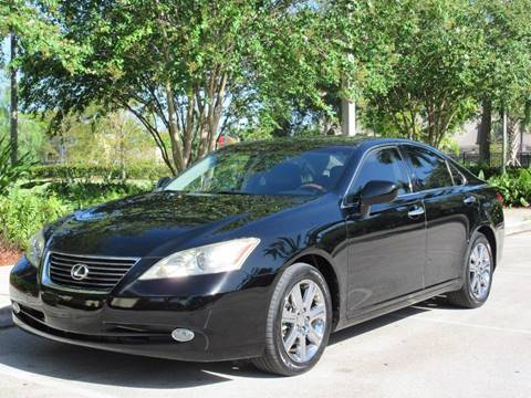 2007 Lexus ES 350 for sale at FIRST FLORIDA MOTOR SPORTS in Pompano Beach FL