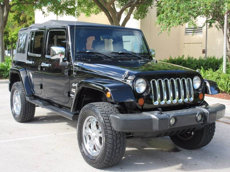 2007 Jeep Wrangler Unlimited for sale at FIRST FLORIDA MOTOR SPORTS in Pompano Beach FL