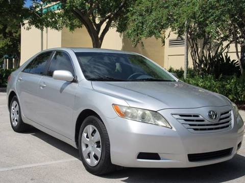2009 Toyota Camry for sale at FIRST FLORIDA MOTOR SPORTS in Pompano Beach FL