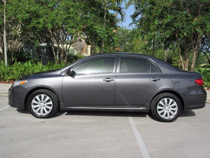 2013 Toyota Corolla for sale at FIRST FLORIDA MOTOR SPORTS in Pompano Beach FL