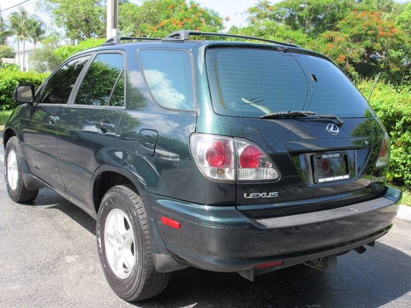 2003 Lexus RX 300 for sale at FIRST FLORIDA MOTOR SPORTS in Pompano Beach FL