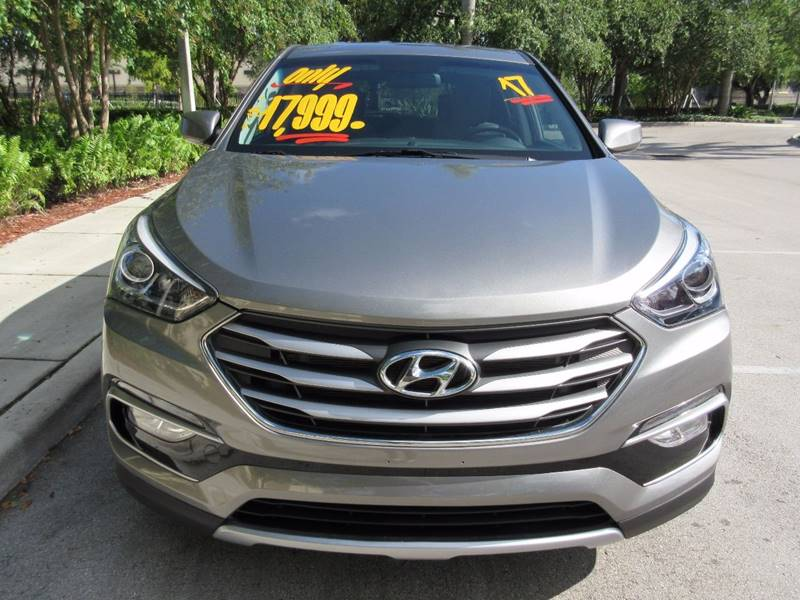 2017 Hyundai Santa Fe Sport for sale at FIRST FLORIDA MOTOR SPORTS in Pompano Beach FL
