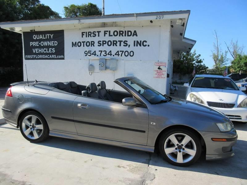 2006 Saab 9-3 for sale at FIRST FLORIDA MOTOR SPORTS in Pompano Beach FL