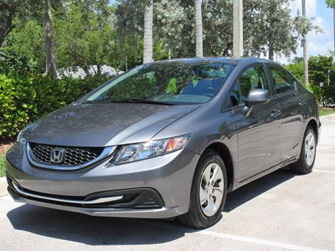 2013 Honda Civic for sale at FIRST FLORIDA MOTOR SPORTS in Pompano Beach FL