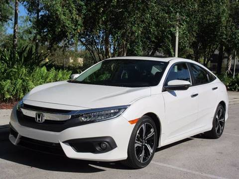 2016 Honda Civic for sale at FIRST FLORIDA MOTOR SPORTS in Pompano Beach FL