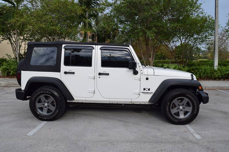 Good 2009 Jeep Wrangler Unlimited X