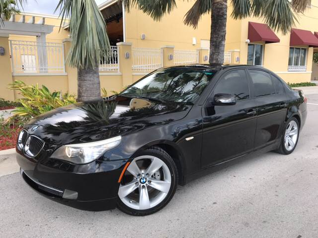 2009 BMW 5 Series For Sale At FIRST FLORIDA MOTOR SPORTS In Pompano Beach FL