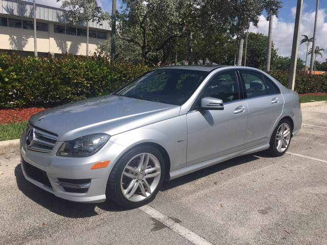 2012 Mercedes Benz C Class For Sale At FIRST FLORIDA MOTOR SPORTS In Pompano