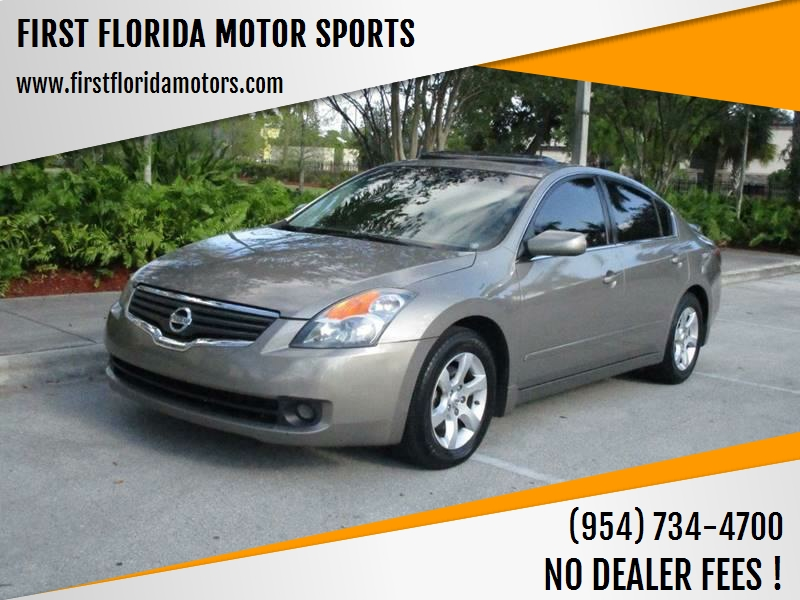 2008 Nissan Altima For Sale At FIRST FLORIDA MOTOR SPORTS In Pompano Beach  FL
