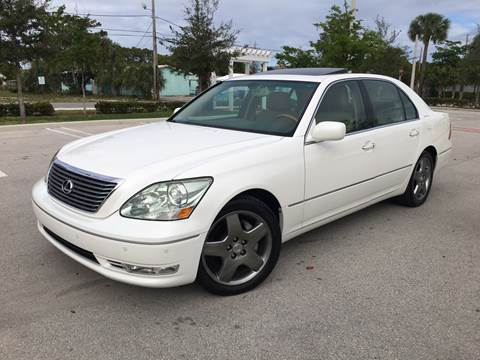 2006 Lexus LS 430 for sale at FIRST FLORIDA MOTOR SPORTS in Pompano Beach FL