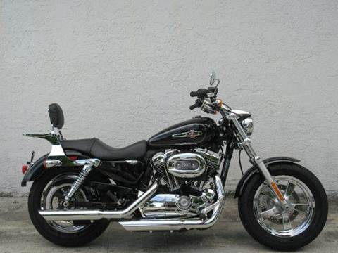 2013 Harley-Davidson Sportster for sale at FIRST FLORIDA MOTOR SPORTS in Pompano Beach FL