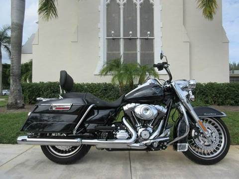 2013 Harley-Davidson Road King for sale in Pompano Beach, FL