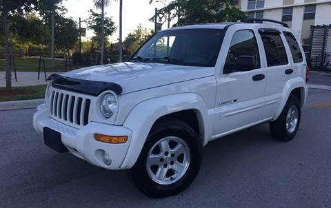 2002 Jeep Liberty for sale in Pompano Beach, FL