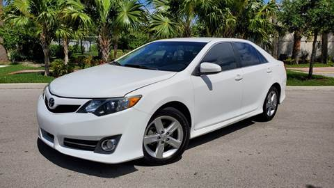 2013 Toyota Camry for sale in Pompano Beach, FL