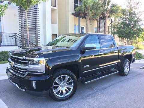 2017 Chevrolet Silverado 1500 for sale at FIRST FLORIDA MOTOR SPORTS in Pompano Beach FL