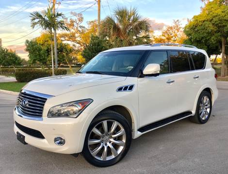 2012 Infiniti QX56 for sale at FIRST FLORIDA MOTOR SPORTS in Pompano Beach FL