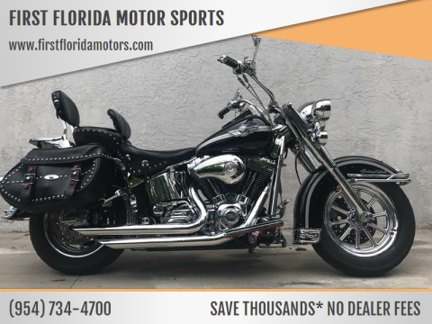 2003 Harley-Davidson FLSTC for sale at FIRST FLORIDA MOTOR SPORTS in Pompano Beach FL