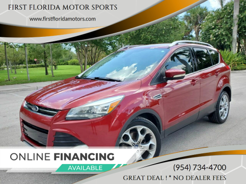 2014 Ford Escape for sale at FIRST FLORIDA MOTOR SPORTS in Pompano Beach FL