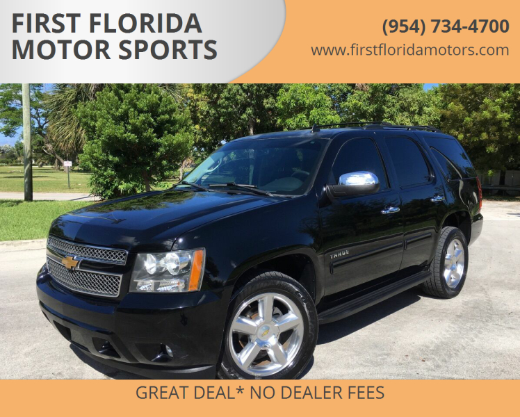 2013 Chevrolet Tahoe for sale at FIRST FLORIDA MOTOR SPORTS in Pompano Beach FL