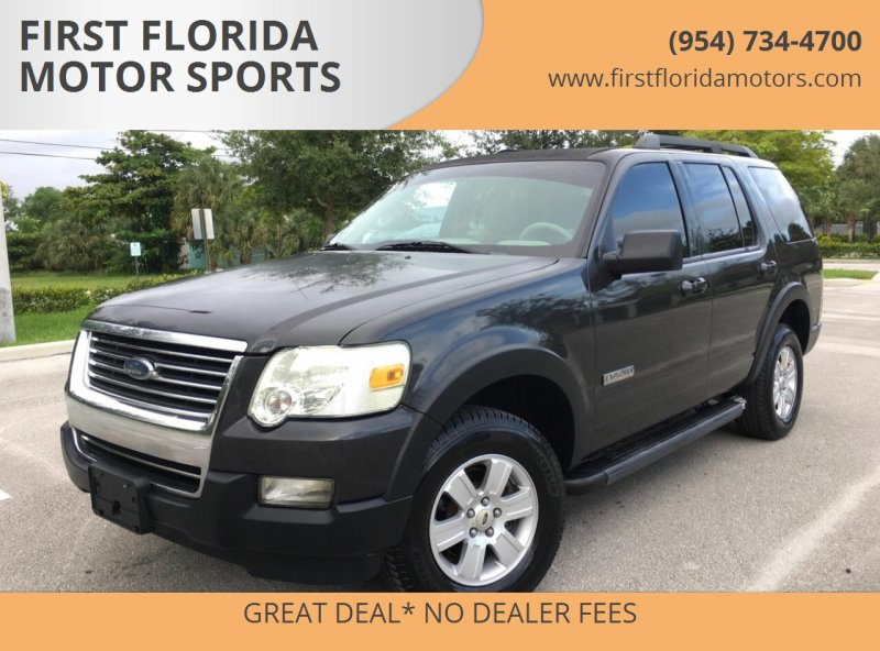 2007 Ford Explorer for sale at FIRST FLORIDA MOTOR SPORTS in Pompano Beach FL