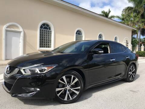 2017 Nissan Maxima for sale at FIRST FLORIDA MOTOR SPORTS in Pompano Beach FL