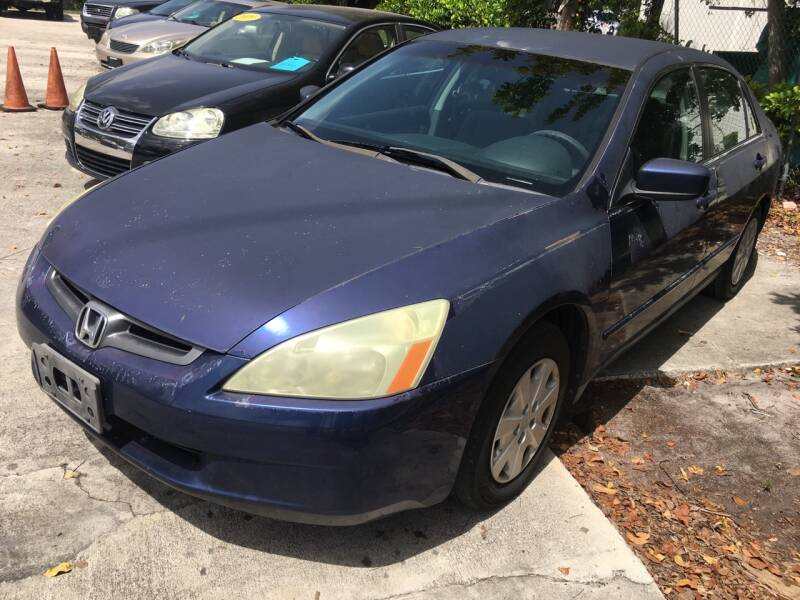 2003 Honda Accord for sale at FIRST FLORIDA MOTOR SPORTS in Pompano Beach FL