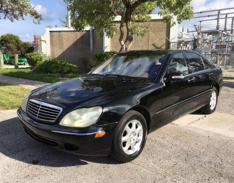 2001 Mercedes-Benz S-Class for sale at FIRST FLORIDA MOTOR SPORTS in Pompano Beach FL