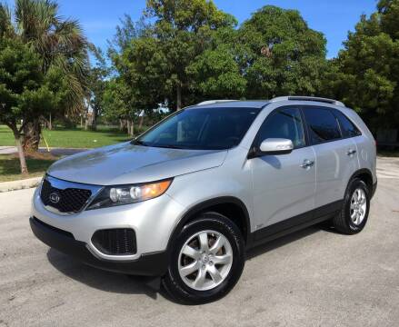 2013 Kia Sorento for sale at FIRST FLORIDA MOTOR SPORTS in Pompano Beach FL