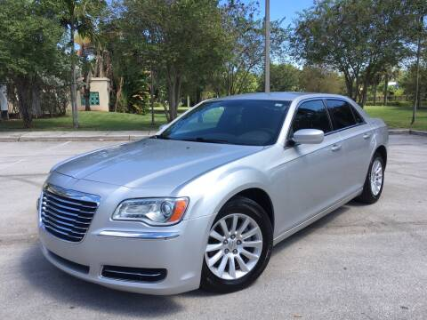 2012 Chrysler 300 for sale at FIRST FLORIDA MOTOR SPORTS in Pompano Beach FL