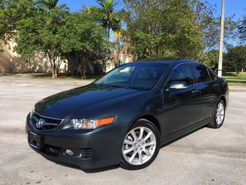 2006 Acura TSX for sale at FIRST FLORIDA MOTOR SPORTS in Pompano Beach FL
