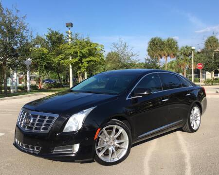 2014 Cadillac XTS for sale at FIRST FLORIDA MOTOR SPORTS in Pompano Beach FL