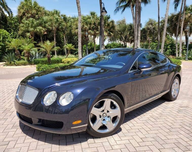 2005 Bentley Continental for sale at FIRST FLORIDA MOTOR SPORTS in Pompano Beach FL