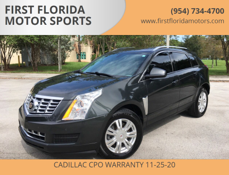 2014 Cadillac SRX for sale at FIRST FLORIDA MOTOR SPORTS in Pompano Beach FL