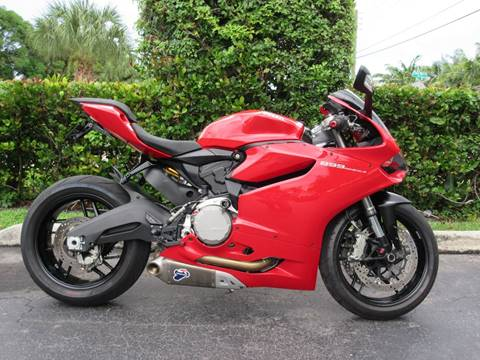 2015 Ducati 899 Panigale for sale at FIRST FLORIDA MOTOR SPORTS in Pompano Beach FL
