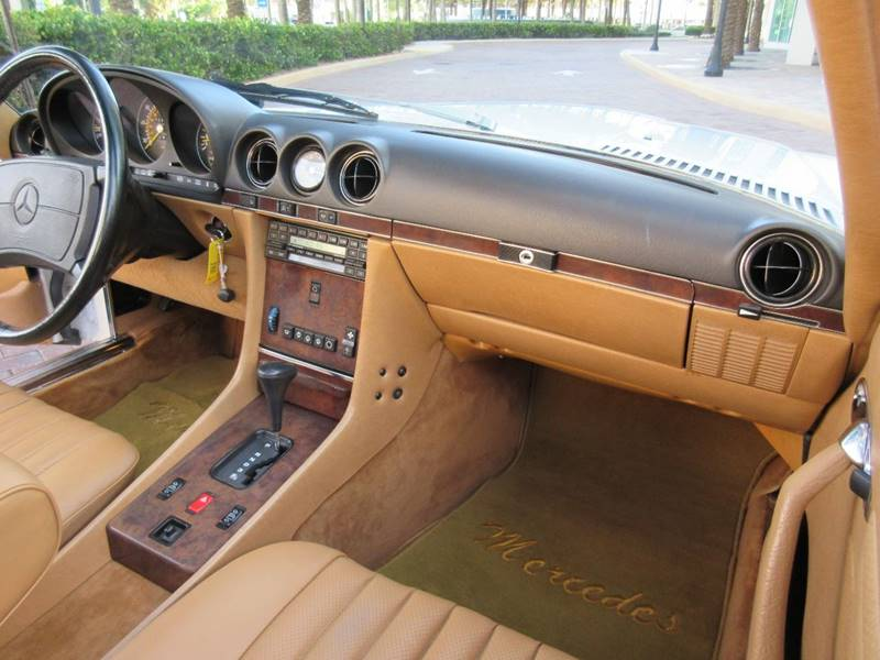 1988 Mercedes-Benz 560-Class for sale at FIRST FLORIDA MOTOR SPORTS in Pompano Beach FL