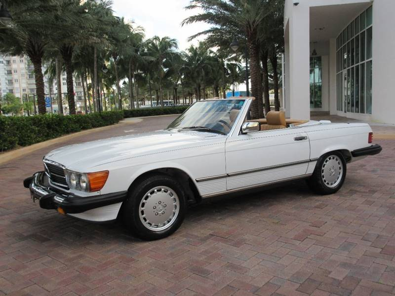 1988 Mercedes Benz 560 Class For Sale At FIRST FLORIDA MOTOR SPORTS In  Pompano