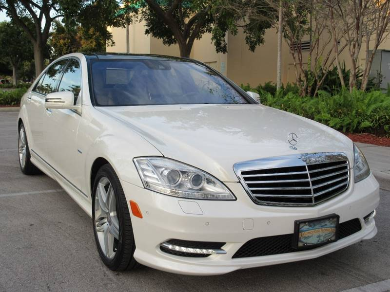 2012 Mercedes-Benz S-Class for sale at FIRST FLORIDA MOTOR SPORTS in Pompano Beach FL