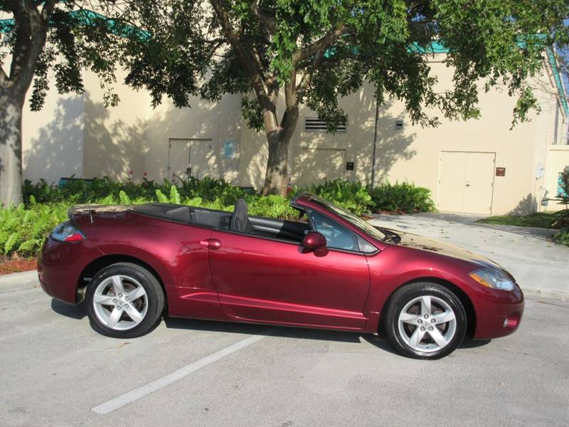2007 Mitsubishi Eclipse Spyder for sale at FIRST FLORIDA MOTOR SPORTS in Pompano Beach FL