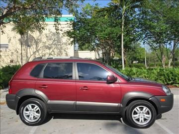 2007 Hyundai Tucson for sale at FIRST FLORIDA MOTOR SPORTS in Pompano Beach FL
