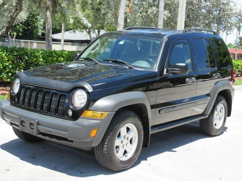 2006 Jeep Liberty for sale at FIRST FLORIDA MOTOR SPORTS in Pompano Beach FL