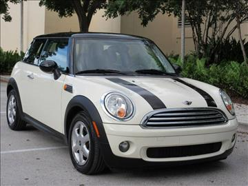 2010 MINI Cooper for sale at FIRST FLORIDA MOTOR SPORTS in Pompano Beach FL