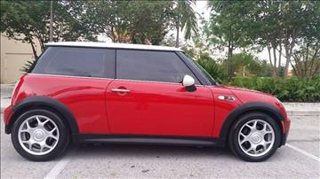 2003 MINI Cooper for sale at FIRST FLORIDA MOTOR SPORTS in Pompano Beach FL