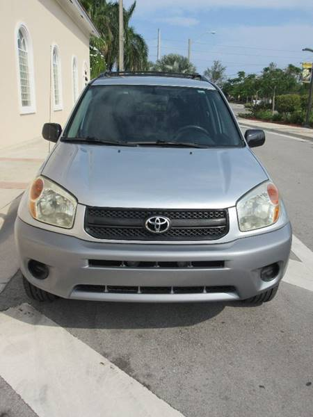 2004 Toyota RAV4 for sale at FIRST FLORIDA MOTOR SPORTS in Pompano Beach FL