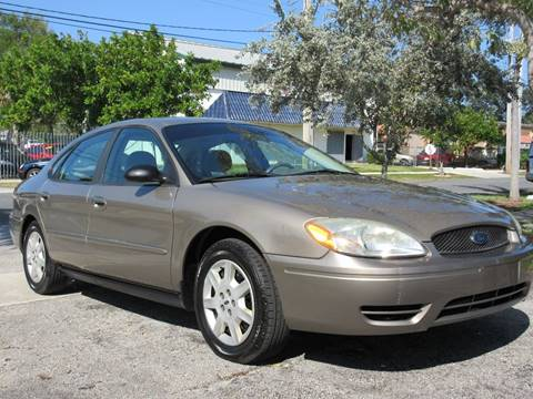 2007 Ford Taurus for sale at FIRST FLORIDA MOTOR SPORTS in Pompano Beach FL