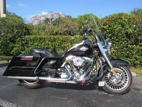 2013 Harley-Davidson ROAD KING FLHR for sale at FIRST FLORIDA MOTOR SPORTS in Pompano Beach FL