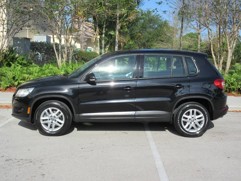 2011 Volkswagen Tiguan for sale at FIRST FLORIDA MOTOR SPORTS in Pompano Beach FL