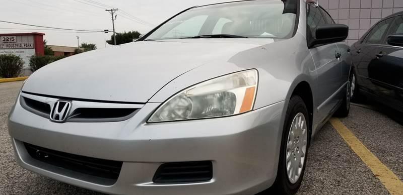 2007 honda accord value package 4dr sedan 2 4l i4 5m in louisville ky derby city automotive. Black Bedroom Furniture Sets. Home Design Ideas