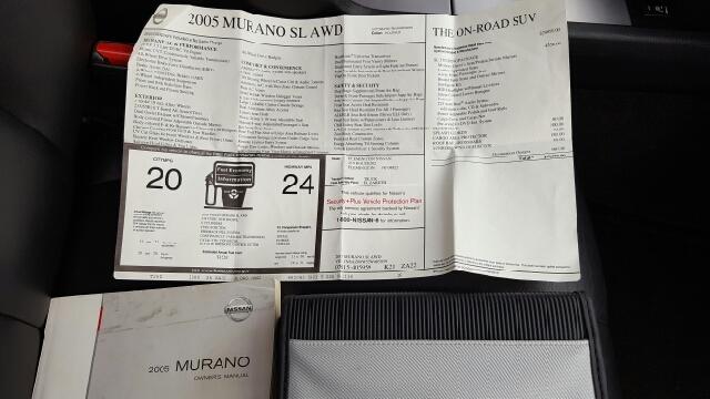 2005 Nissan Murano AWD SL 4dr SUV - Louisville KY