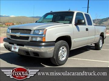 2004 Chevrolet Silverado 1500 for sale in Missoula, MT