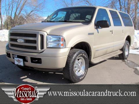 2005 Ford Excursion for sale in Missoula, MT